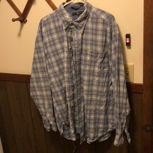 Tommy Hilfiger button down long sleeve  size XL